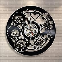 Kingdom Hearts Wall Art Vinyl Record Clock Home Decor - Win a prize for feedback