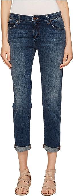Eileen Fisher Boyfriend Jeans in Aged Indigo
