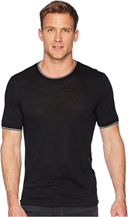 Vince Sweater Rib Short Sleeve
