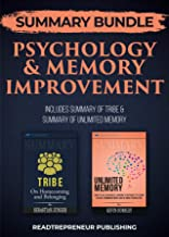 Summary Bundle: Psychology & Memory Improvement | Readtrepreneur Publishing: Includes Summary of Tribe & Summary of Unlimited Memory