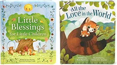 2 Pack Padded Board Books - Little Blessings and All The Love In The World (Love You Always)