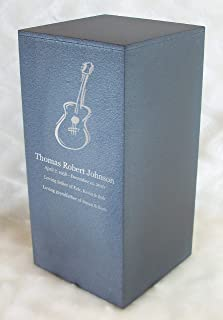 guitar urns for ashes