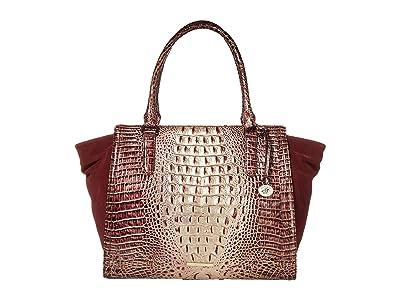 Brahmin Harmonia Petra II Totes (Port) Handbags