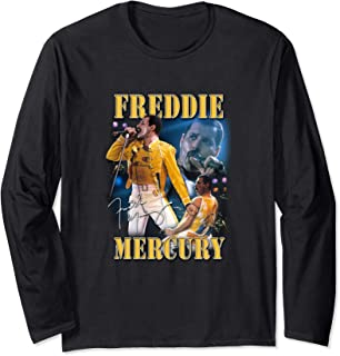 Freddie Mercury Official Homage Champion Long Sleeve Shirt
