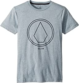 Pin Line Stone Short Sleeve Tee (Big Kids)
