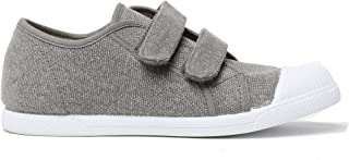 Childrenchic Unisex Hook and Loop Sneakers - Shoes for Boys and Girls (Toddler/Little Kid/Big Kid) Grey Size: 31 M EU/13-13.5 M US Little Kid