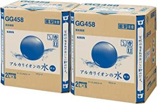 [2CS] キリン アルカリイオンの水 PET (2L×6本)×2箱