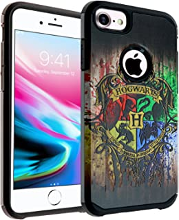 465e1b2486 iPhone 6s Plus Case, DURARMOR Harry Potter Hogwarts Houses Dual Layer  Hybrid ShockProof Ultra Slim