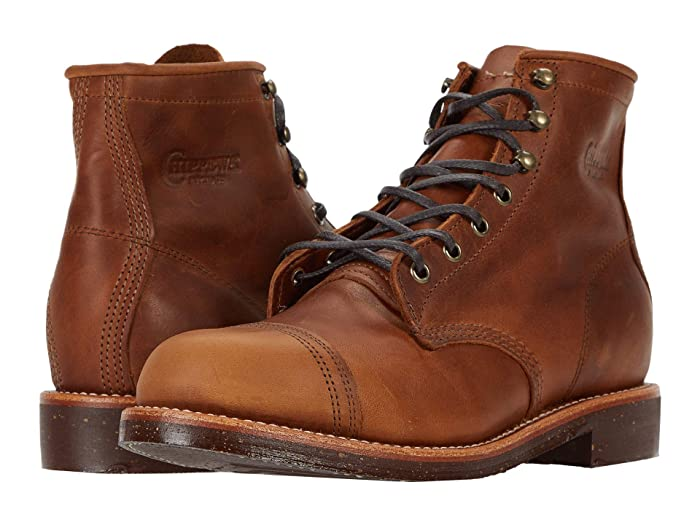 Victorian Men's Shoes & Boots- Lace Up, Spats, Chelsea, Riding Chippewa Brentwood Homestead Cuero Mens Boots $227.99 AT vintagedancer.com