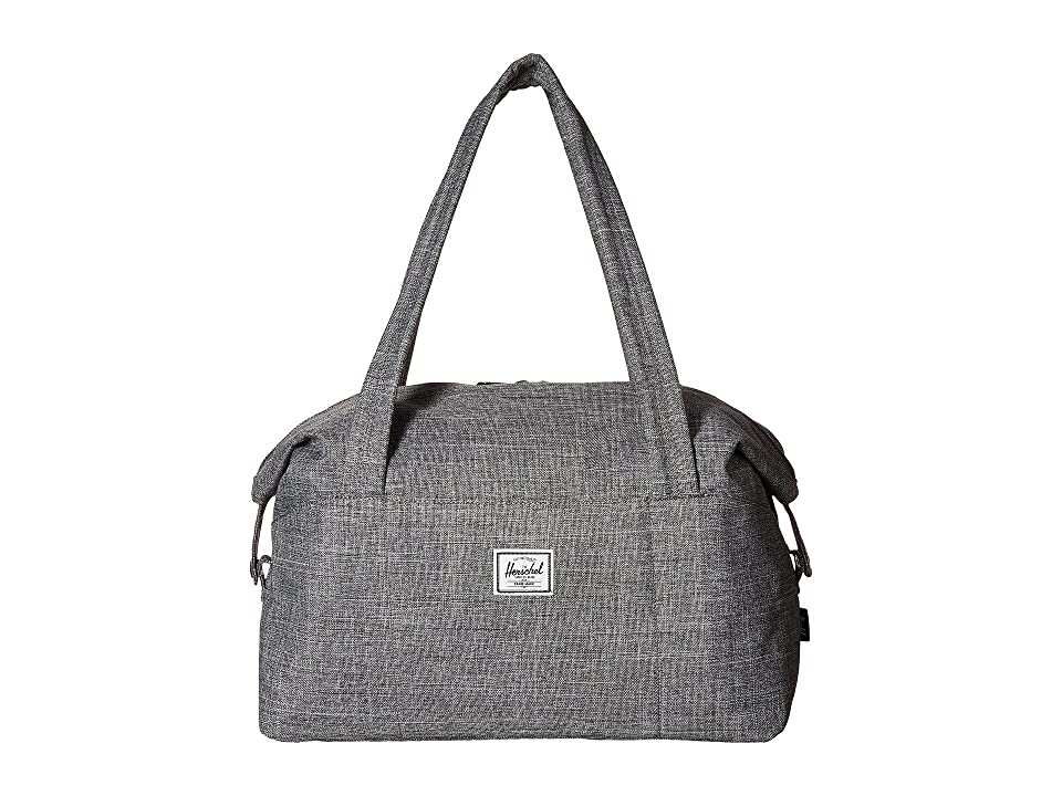 Herschel Supply Co. Strand X-Small (Raven Crosshatch) Duffel Bags, Gray