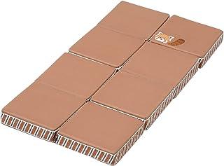 西川 リビング お昼寝枕 オフィス仮眠 デスク枕 折りたたんで使える 高さ形を変えられる まくら 自宅 クッション konemuri こねむり おひるねピロー パタパタ レッサーパンダ 243600194 ベージュ 20×40×2.5cm
