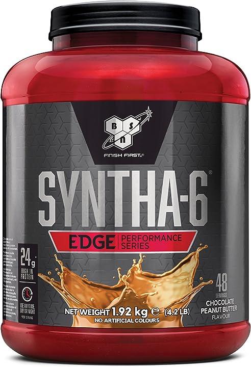 Proteine - bsn syntha 6 edge proteine whey in polvere, cioccolato burro di arachidi (peanut butter), 1.92 kg 1061786