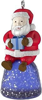 Hallmark Keepsake 2017 Sweet Li'l Santa Gumdrop Mini Christmas Ornament