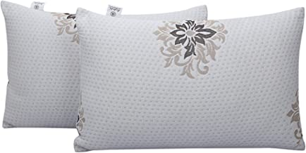 Healing Crystals India Pillow Micro Fiber Fluffy and Soft Luxury Plush Bed Pillow for Home and Hotel Collection, Cotton Co...