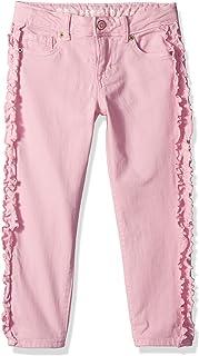 Gymboree Girls' Big Ruffle Skinny Jean