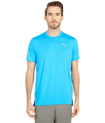 PUMA Run Laser Cat Short Sleeve Tee (Nrgy Blue) Men
