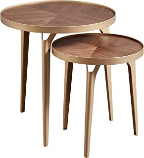 Best hammered brass side table Reviews