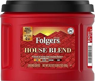 Folgers House Blend Medium Roast Ground Coffee, 24.2 Ounces