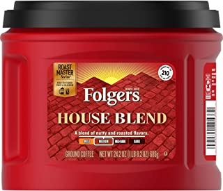 Folgers House Blend Ground Coffee, Medium Roast, 24.2 Ounce, Packaging May Vary