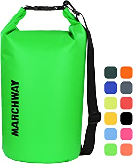 MARCHWAY Floating Waterproof Dry Bag 5L/10L/20L/30L/40L,...