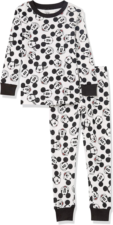 Amazon Essentials Boy's Disney Star Wars Marvel Snug-fit Cotton Pajamas Sleepwear Sets