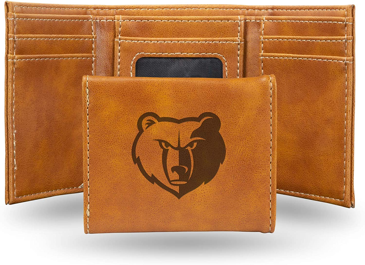 NBA Rico Industries Laser Engraved Grizz Wallet Direct store Memphis Trifold Large-scale sale