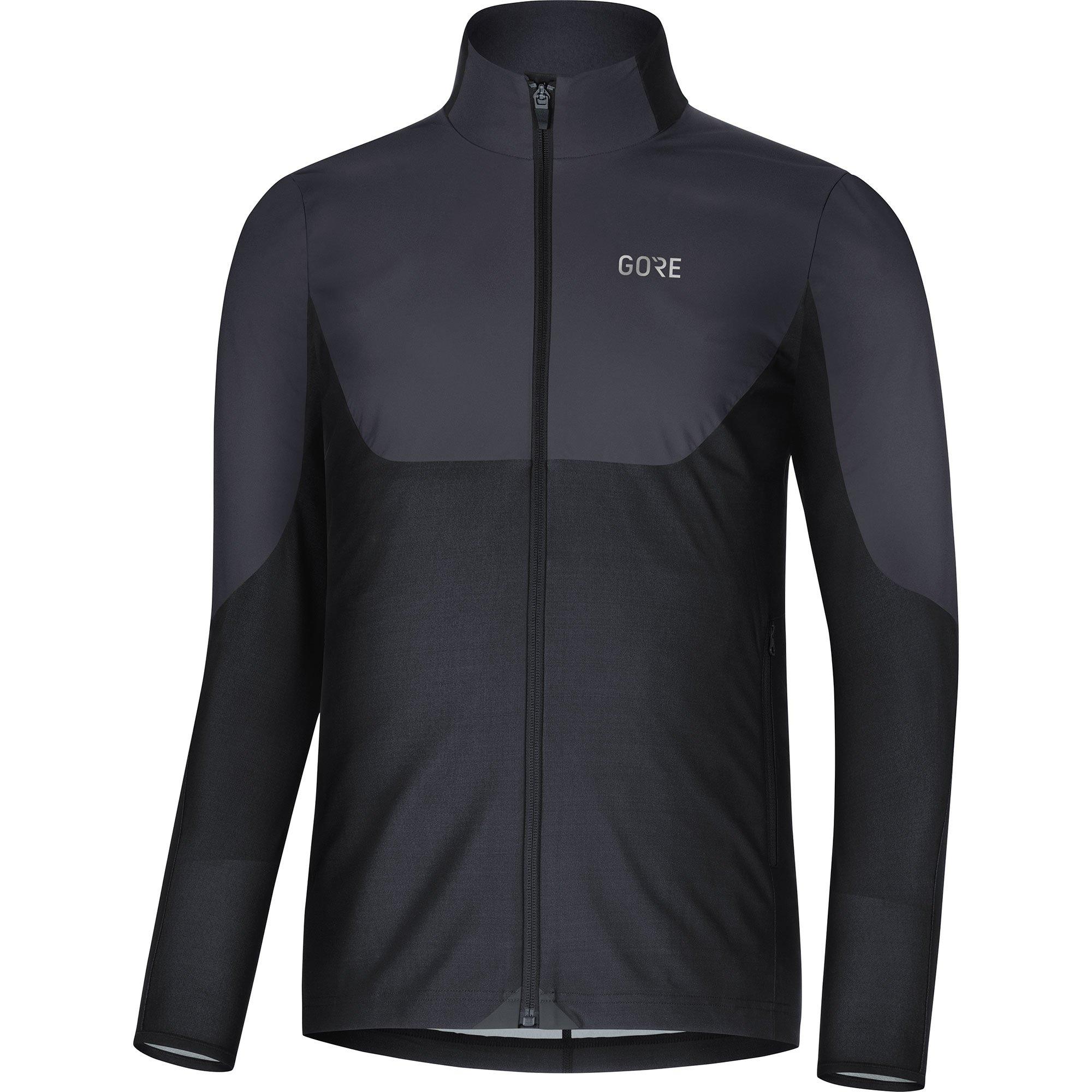 GORE WEAR Herren R5 Windstopper Shirt langarm, Terra Grey/Black, M-L