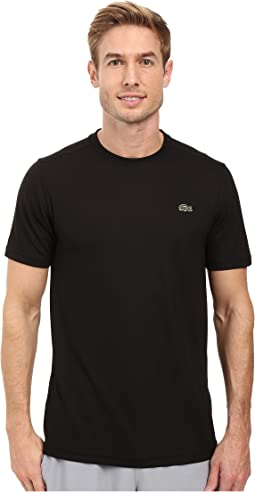 Sport Short Sleeve Solid Ultra Dry Tee Shirt