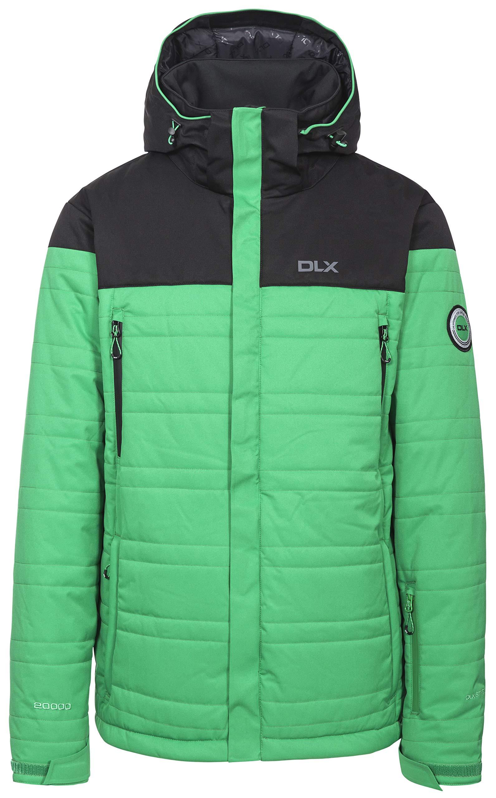Hayes Men's DLX Insulated Stretch Ski Jacket - CLOVER XXS
