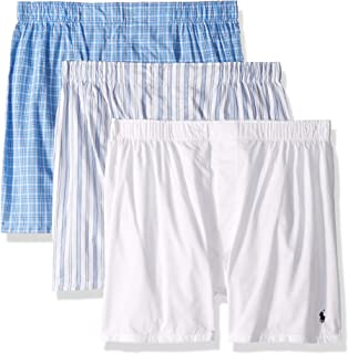 Men's Classic Fit 3 Packaged Woven Boxers