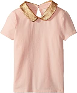 Kate Spade New York Kids - Embellished Collar Top (Toddler/Little Kids)