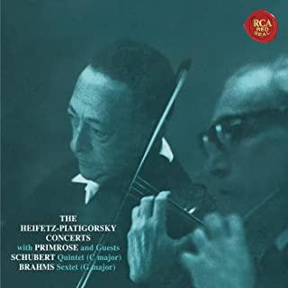 Schubert: Quintet in C Major, D. 956 - Brahms: Sextet in G Major, Op. 36 ((Heifetz Remastered))