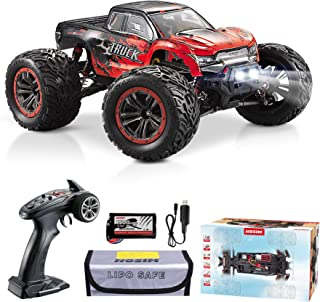 Hosim 1:12 Scale 46+ kmh High Speed RC Cars - Boys Remote Control Cars 4WD 2.4GHz Off Road RC Monster Trucks for Adults Ki...
