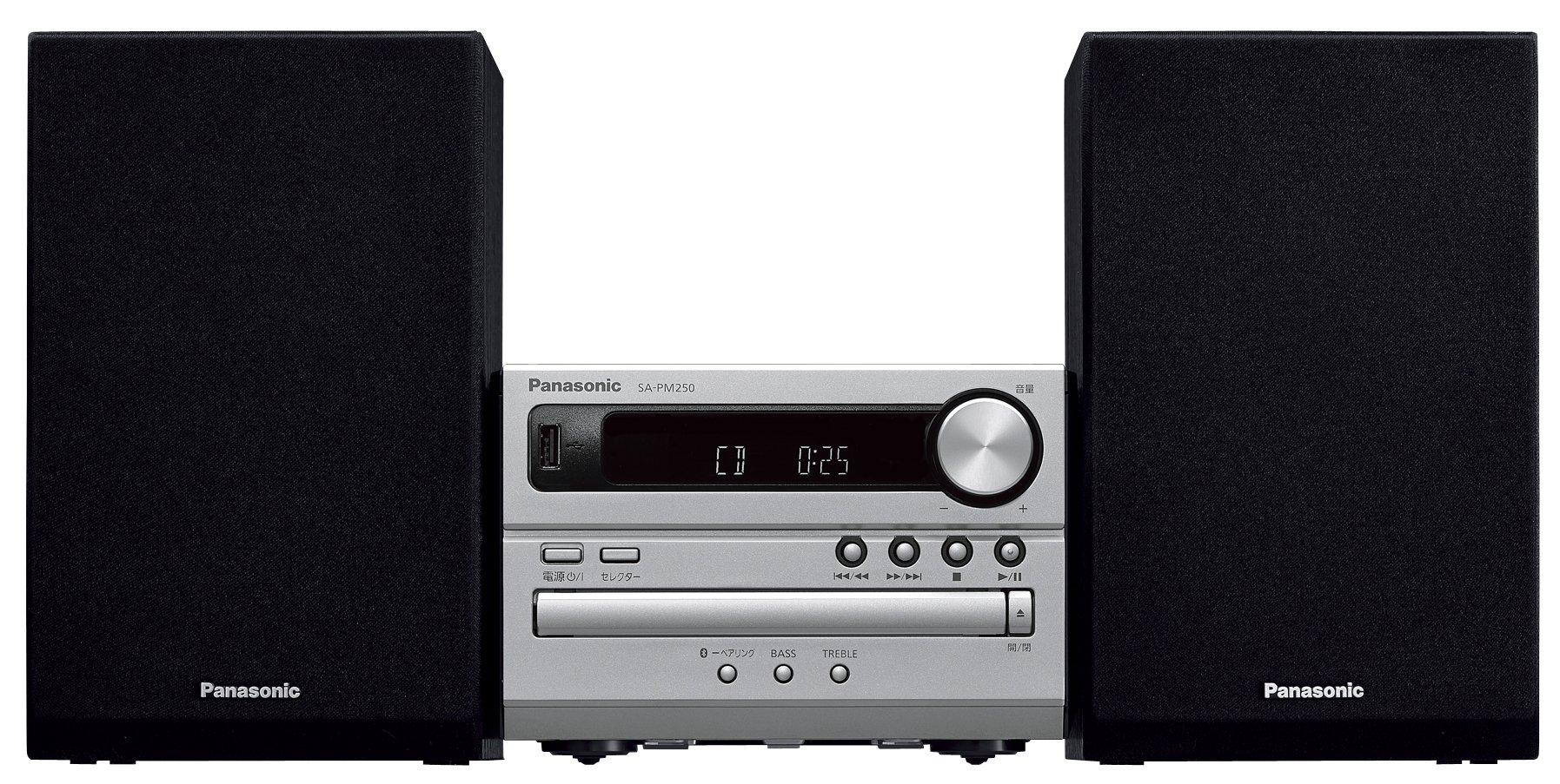 Panasonic stereo Bluetooth correspondence SC PM250 S