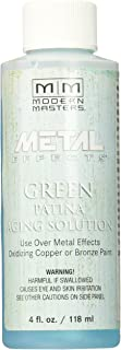 Modern Masters PA901-04 Aging Solution Green Patina, 4-Ounce