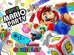 Clip: Super Mario Party Gameplay - Zebra Gamer