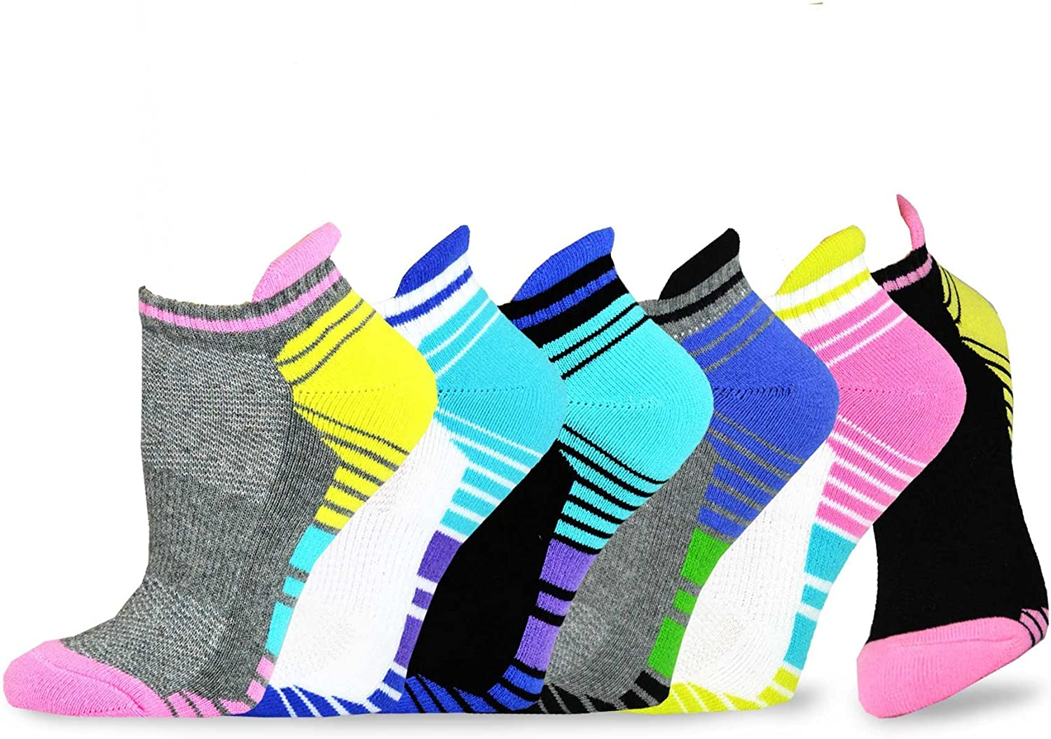 All items in the Super special price store TeeHee Women Athletic Cushioned Cut Low Pair Multi