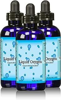 Stabilized Liquid Oxygen drops Supplement-stabilized Oxygen Drops, Three 4 Ounce Bottles