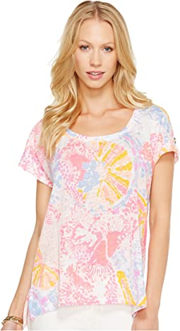 Lilly Pulitzer Inara Linen Beach Top