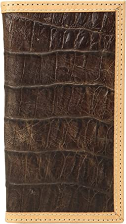 Ariat Croc Print Rodeo Wallet