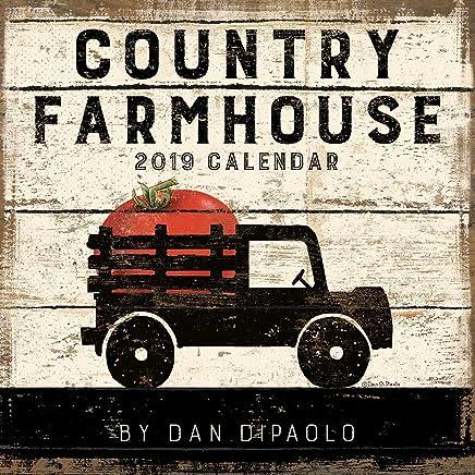 Country Farmhouse 2019 Calendar