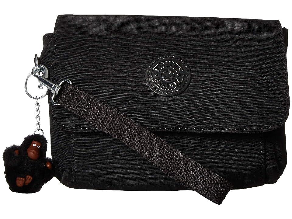 Kipling Selene Wristlet (Black) Wristlet Handbags