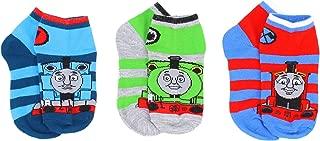 Thomas & Friends Little Boy's 3-Pack Character Quarter Socks, Shoe Size 7-10