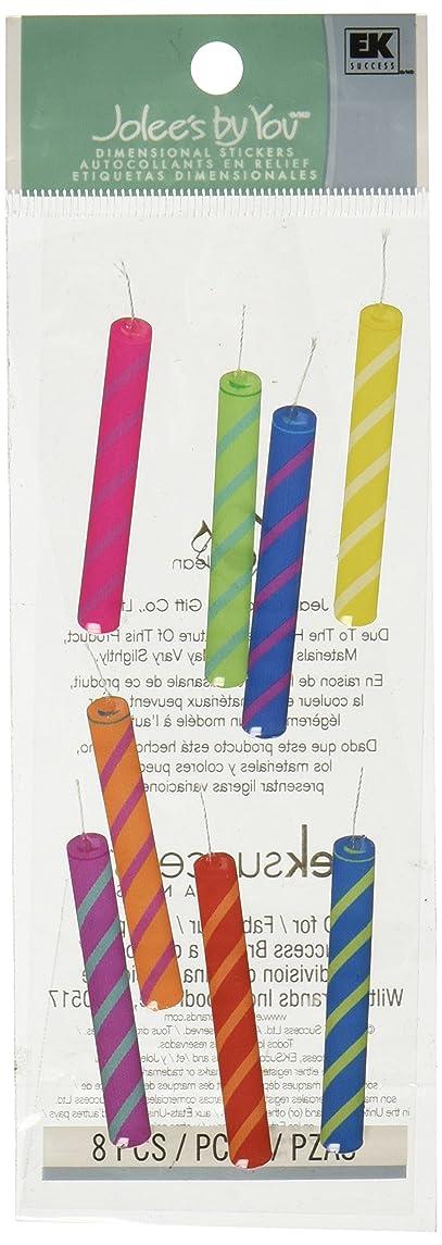 Jolee's Boutique Dimensional Sticker, Birthday Candles