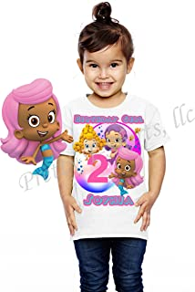 Bubble Guppies Birthday Shirt, Add Any Name and Age, Bubble Guppies Birthday Party, Family Matching Shirts, Girl Birthday Shirts, Guppies Birthday Shirt, Bubble Guppies Girl Shirt, Visit Our Shop