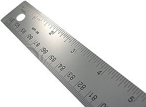 Westcott - Regla de acero inoxidable con base de corcho, 36 pulgadas/métrica (MR-36)