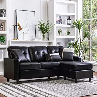 black sectional couch for cheap