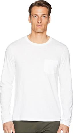 Made In The USA Pocket Long Sleeve T-Shirt
