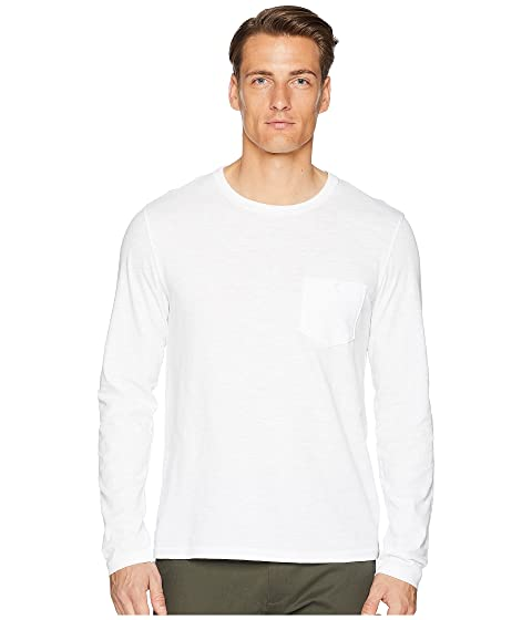 Todd Snyder Made In The USA Pocket Long Sleeve T-Shirt