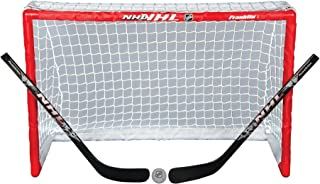 Franklin Sports Mini Hockey Goal Set - NHL - 32 x 21 Inch